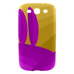 Yellow and magenta landscape Samsung Galaxy S III Hardshell Case