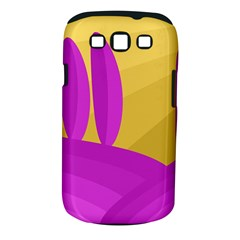 Yellow and magenta landscape Samsung Galaxy S III Classic Hardshell Case (PC+Silicone)