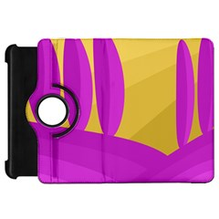 Yellow and magenta landscape Kindle Fire HD Flip 360 Case