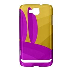 Yellow and magenta landscape Samsung Ativ S i8750 Hardshell Case