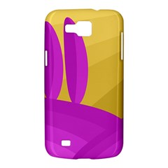 Yellow and magenta landscape Samsung Galaxy Premier I9260 Hardshell Case