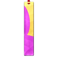 Yellow and magenta landscape Large Book Marks
