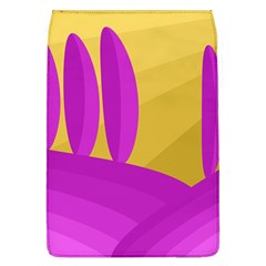 Yellow and magenta landscape Flap Covers (L)