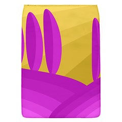 Yellow and magenta landscape Flap Covers (S)