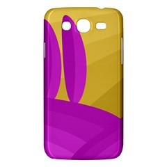 Yellow and magenta landscape Samsung Galaxy Mega 5.8 I9152 Hardshell Case