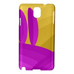 Yellow and magenta landscape Samsung Galaxy Note 3 N9005 Hardshell Case