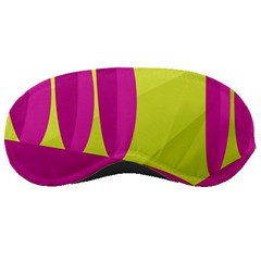 Yellow and pink landscape Sleeping Masks