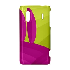 Yellow and pink landscape HTC Evo Design 4G/ Hero S Hardshell Case