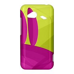 Yellow and pink landscape HTC Droid Incredible 4G LTE Hardshell Case