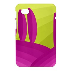 Yellow and pink landscape Samsung Galaxy Tab 7  P1000 Hardshell Case