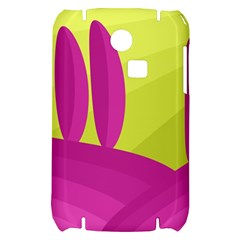 Yellow and pink landscape Samsung S3350 Hardshell Case
