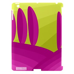 Yellow and pink landscape Apple iPad 3/4 Hardshell Case (Compatible with Smart Cover)