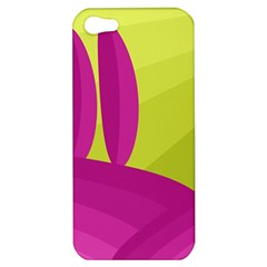 Yellow and pink landscape Apple iPhone 5 Hardshell Case