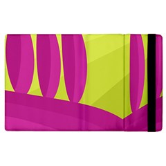 Yellow and pink landscape Apple iPad 3/4 Flip Case