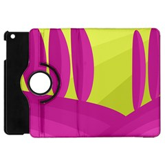 Yellow and pink landscape Apple iPad Mini Flip 360 Case