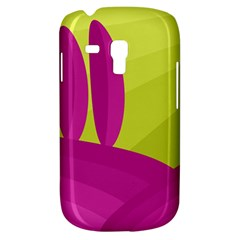 Yellow and pink landscape Samsung Galaxy S3 MINI I8190 Hardshell Case