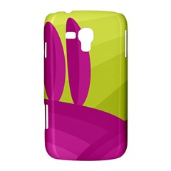 Yellow and pink landscape Samsung Galaxy Duos I8262 Hardshell Case