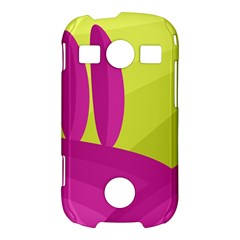 Yellow and pink landscape Samsung Galaxy S7710 Xcover 2 Hardshell Case