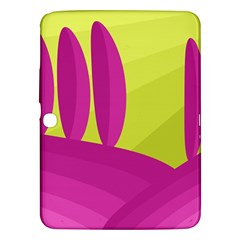 Yellow and pink landscape Samsung Galaxy Tab 3 (10.1 ) P5200 Hardshell Case