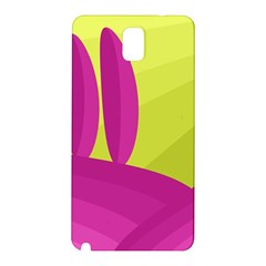Yellow and pink landscape Samsung Galaxy Note 3 N9005 Hardshell Back Case