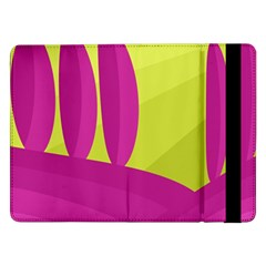 Yellow and pink landscape Samsung Galaxy Tab Pro 12.2  Flip Case
