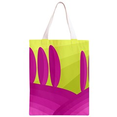 Yellow and pink landscape Classic Light Tote Bag