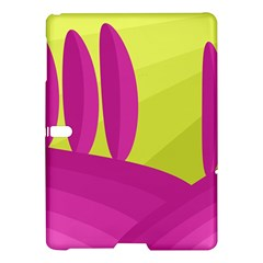 Yellow and pink landscape Samsung Galaxy Tab S (10.5 ) Hardshell Case