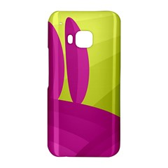 Yellow and pink landscape HTC One M9 Hardshell Case