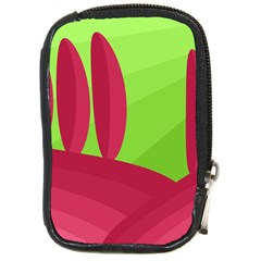 Green And Red Landscape Compact Camera Cases