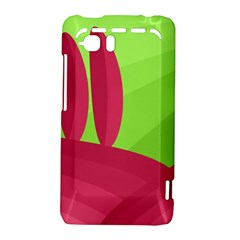 Green and red landscape HTC Vivid / Raider 4G Hardshell Case