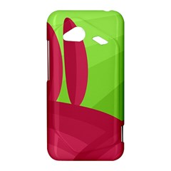 Green and red landscape HTC Droid Incredible 4G LTE Hardshell Case