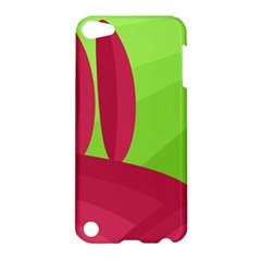 Green and red landscape Apple iPod Touch 5 Hardshell Case