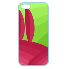 Green and red landscape Apple Seamless iPhone 5 Case (Color)