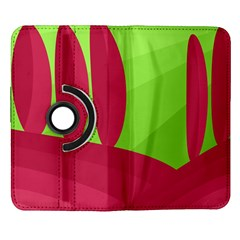 Green and red landscape Samsung Galaxy Note II Flip 360 Case