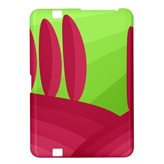 Green and red landscape Kindle Fire HD 8.9