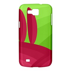 Green and red landscape Samsung Galaxy Premier I9260 Hardshell Case