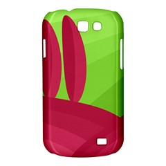 Green and red landscape Samsung Galaxy Express I8730 Hardshell Case