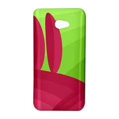 Green and red landscape HTC Butterfly S/HTC 9060 Hardshell Case
