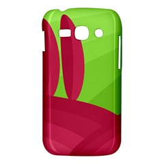 Green and red landscape Samsung Galaxy Ace 3 S7272 Hardshell Case