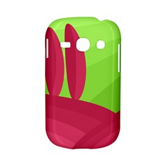 Green and red landscape Samsung Galaxy S6810 Hardshell Case
