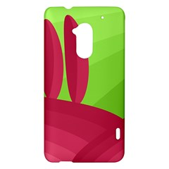 Green and red landscape HTC One Max (T6) Hardshell Case