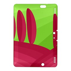 Green and red landscape Kindle Fire HDX 8.9  Hardshell Case