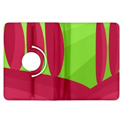 Green and red landscape Kindle Fire HDX Flip 360 Case