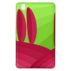 Green and red landscape Samsung Galaxy Tab Pro 8.4 Hardshell Case
