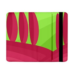 Green and red landscape Samsung Galaxy Tab Pro 8.4  Flip Case