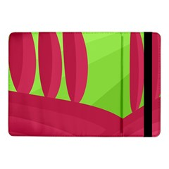 Green and red landscape Samsung Galaxy Tab Pro 10.1  Flip Case