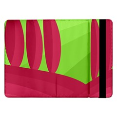 Green and red landscape Samsung Galaxy Tab Pro 12.2  Flip Case