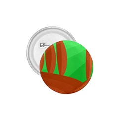 Green and orange landscape 1.75  Buttons