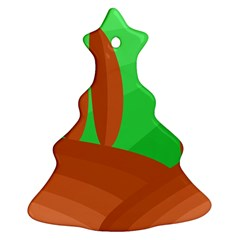 Green and orange landscape Ornament (Christmas Tree)