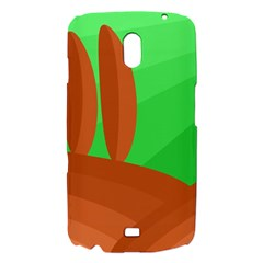 Green and orange landscape Samsung Galaxy Nexus i9250 Hardshell Case